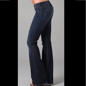 COH Ingrid Stretch Low Waist Flare Jeans Size 29